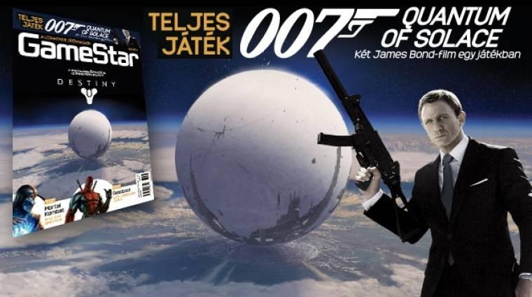 Destiny címlappal és James Bond teljes játékkal megjelent a júliusi GameStar bevezetőkép