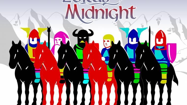 The Lords of Midnight - PC-n a klasszikus Spectrum cím bevezetőkép
