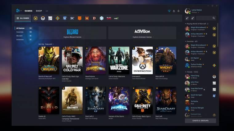 Új külsőt kapott a Battle.net bevezetőkép