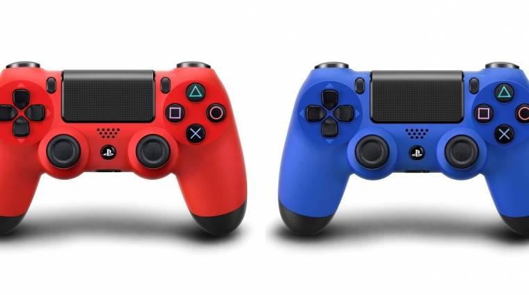 DualShock 4 - kék és vörös színekbe öltözött bevezetőkép