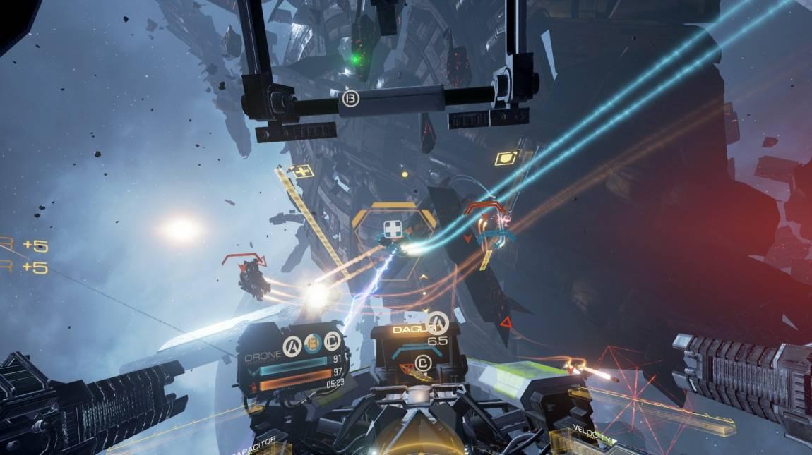 EVE: Valkyrie - ilyen, hogyha meghalsz egy VR űrcsatában bevezetőkép