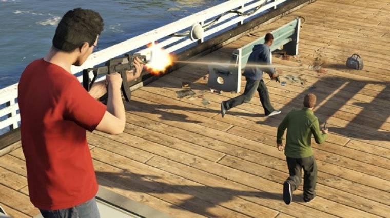 Grand Theft Auto Online - hát ilyen még az akciófilmekben sincs bevezetőkép
