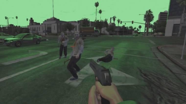 Grand Theft Auto Online - most meg zombis FPS-t csináltak belőle bevezetőkép