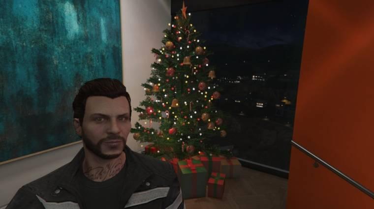 Grand Theft Auto Online - megjött a karácsonyi frissítés (frissítve) bevezetőkép