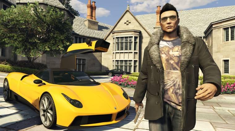Grand Theft Auto Online - csalók lephetik el a szervereket bevezetőkép