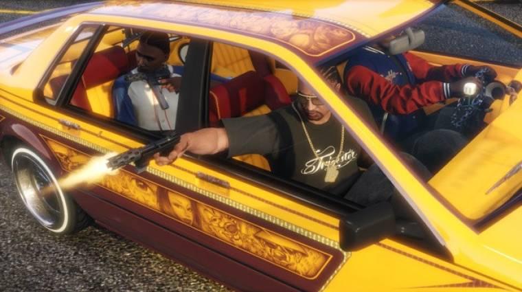 Grand Theft Auto Online - videón a lowrider-tuning bevezetőkép