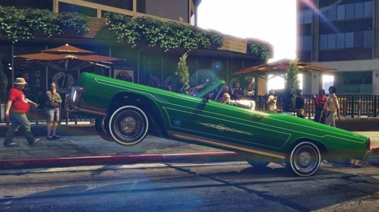 Grand Theft Auto Online - jönnek a lowriderek, és más is bevezetőkép