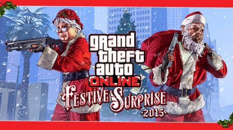 Grand Theft Auto Online - megérkeztek az ünnepi tartalmak bevezetőkép