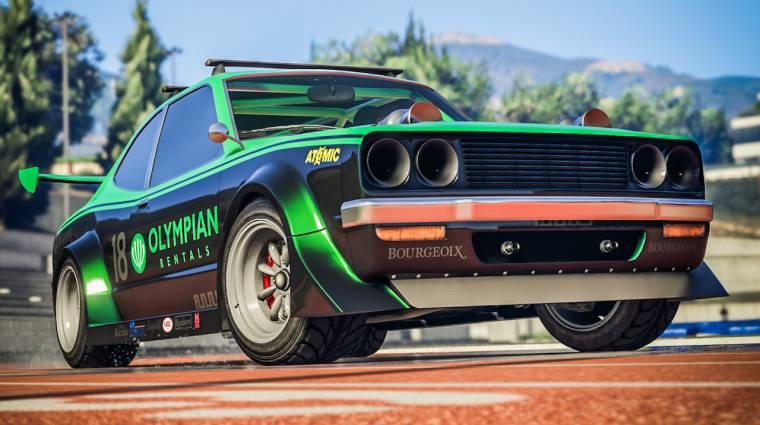 Grand Theft Auto Online - gépfegyverekkel szerelhető raliautóval indul az év bevezetőkép