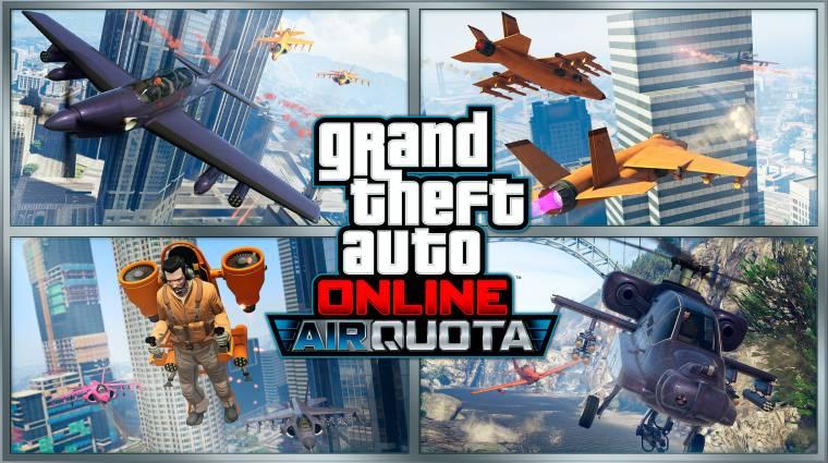 Grand Theft Auto Online - új verda és egy légi csatás játékmód is érkezett bevezetőkép