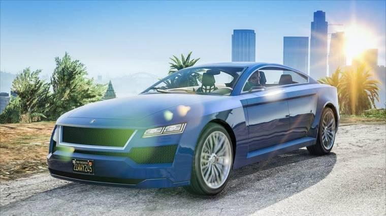 Grand Theft Auto Online - elegáns, drága autót hozott az új frissítés bevezetőkép