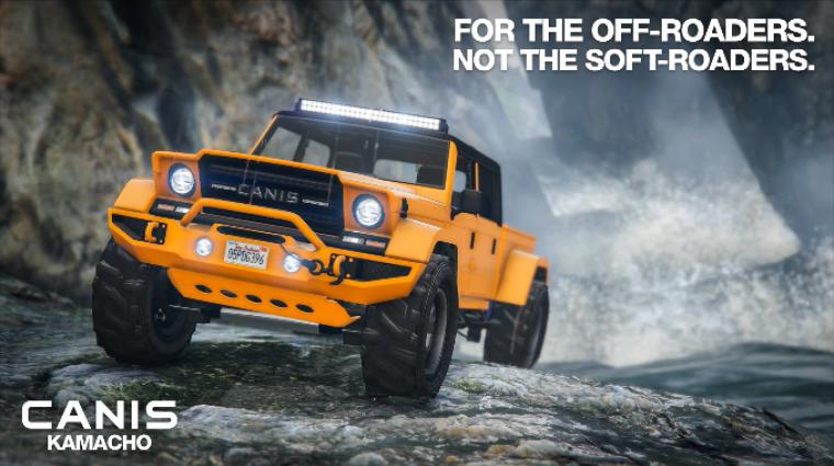 Grand Theft Auto Online - behúzhattok egy pólót, jött egy terepjáró bevezetőkép