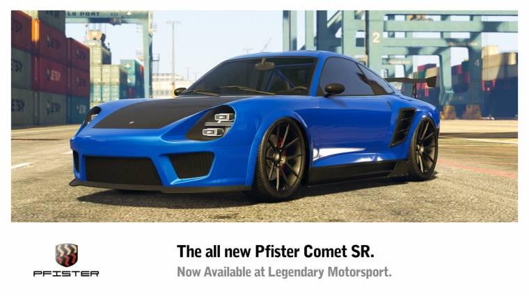 Grand Theft Auto Online - végre egy gyors autót hozott a heti frissítés bevezetőkép