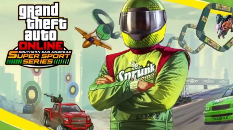 Grand Theft Auto Online - pár új verda és egy minden eddiginél őrültebb verseny érkezett bevezetőkép
