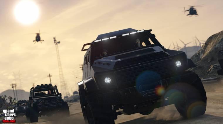 Grand Theft Auto Online - az új autóversenyben nemcsak a jó sofőrök érvényesülhetnek bevezetőkép