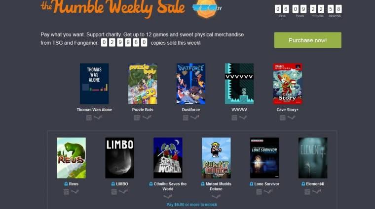 Humble Weekly Sale - megint remek indie címeket kapunk bevezetőkép