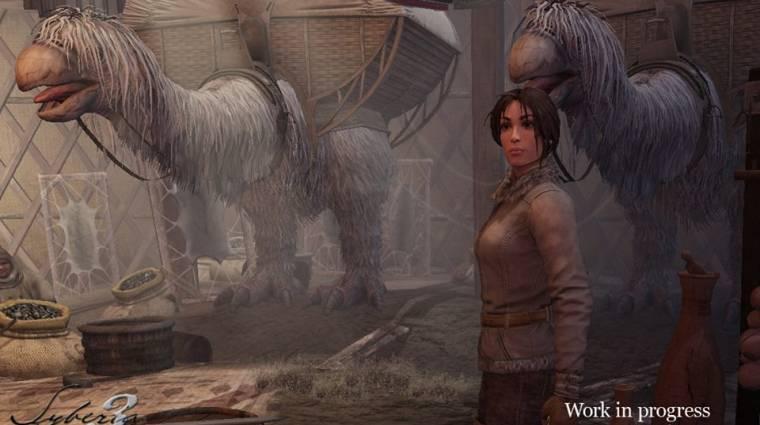 Gamescom 2014 - a Syberia 3 első képei és részletei bevezetőkép