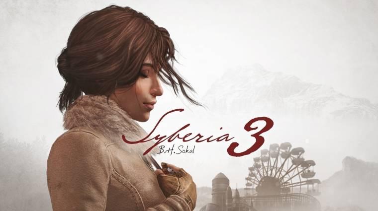Fantasztikus trailert kapott a Syberia 3 bevezetőkép