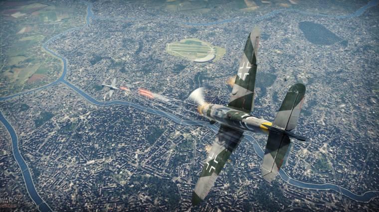 War Thunder - 4K-s felbontásban gyönyörű bevezetőkép