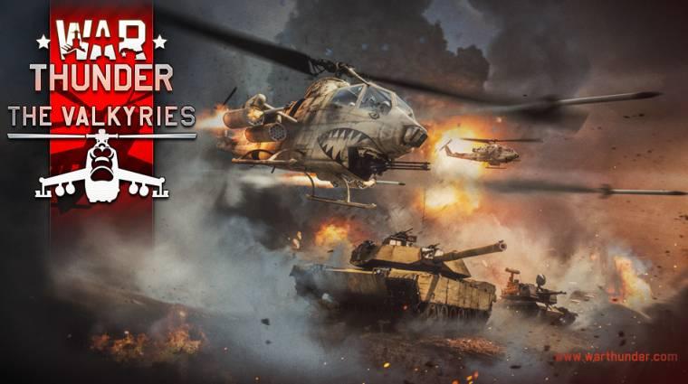 War Thunder - megjöttek a helikopterek bevezetőkép