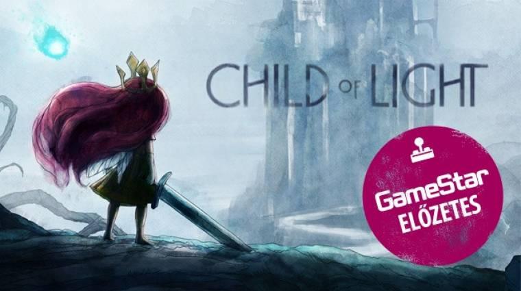 Child of Light előzetes - itt a Ubisoft első JRPG-je bevezetőkép