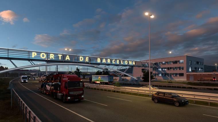 Megjelent az Euro Truck Simulator 2 legújabb DLC-je, irány Barcelona bevezetőkép