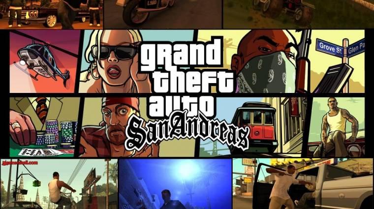 Ingyen letölthető a Grand Theft Auto: San Andreas, ti se maradjatok le róla! bevezetőkép