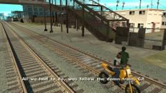 GTA San Andreas - így kell követni azt a rohadt vonatot kép