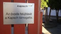 A Kapsch a mogyoródi Don Bosco óvodát támogatja kép