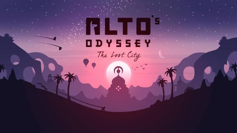 Alto's Odyssey: The Lost City és még 7 új mobiljáték, amire érdemes figyelni bevezetőkép