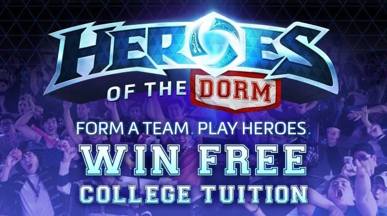 A Heroes of the Storm egyetemi bajnokság, ahol fizetik a nyertesek tandíját bevezetőkép