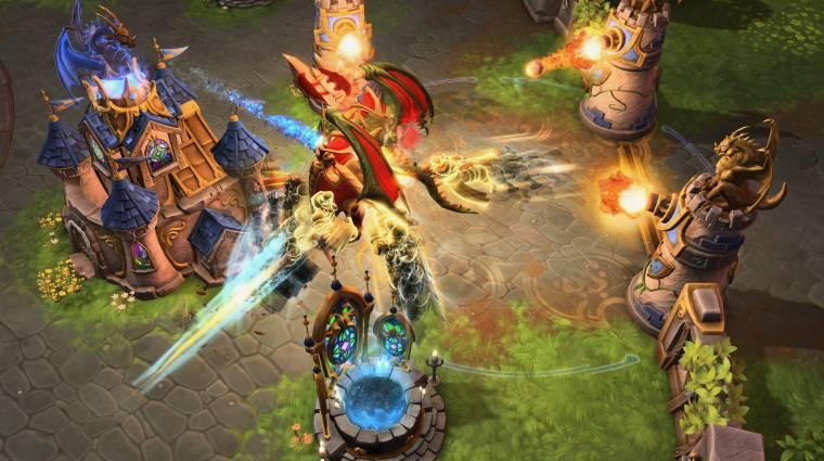 Gamescom 2015 - jöhetne egy Warcraft III ihlette játékmód a Heroes of the Storm-ba? bevezetőkép