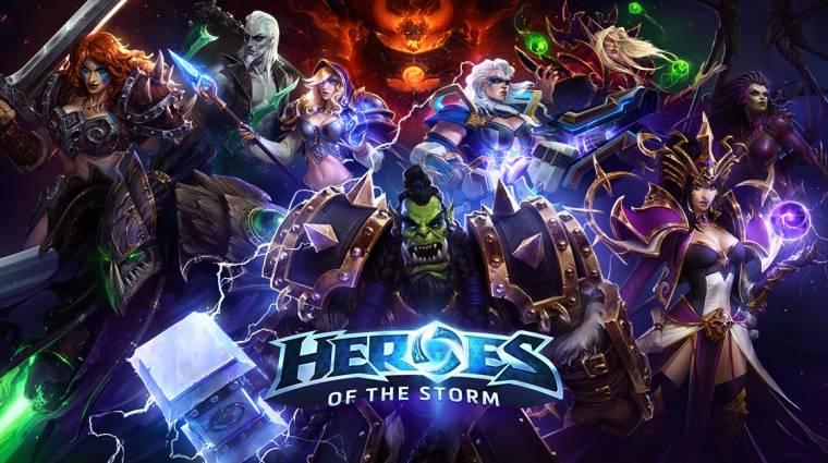 Heroes of the Storm - a következő patch kiveszi a fizetős lootládákat bevezetőkép