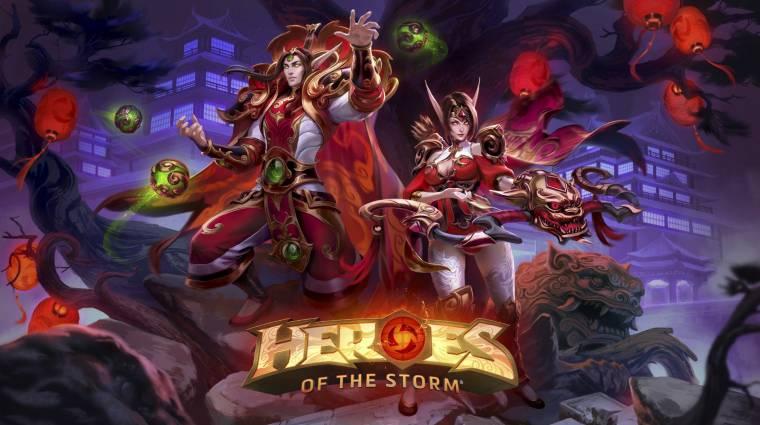 Heroes of the Storm - itt a Lunar Festival, a kínai újévet ünnepeljük bevezetőkép