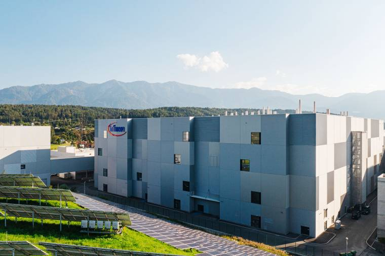 Infineon has opened its Austrian chip plant