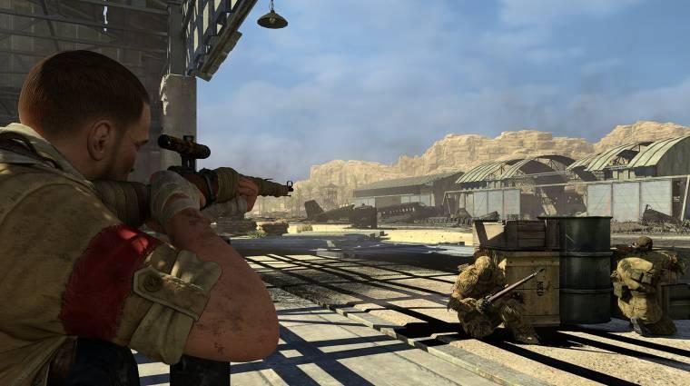 Sniper Elite III: Ultimate Edition megjelenés - jön a teljes csomag  bevezetőkép