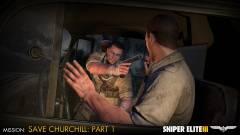 Sniper Elite 3 - mentsd meg Churchill életét kép