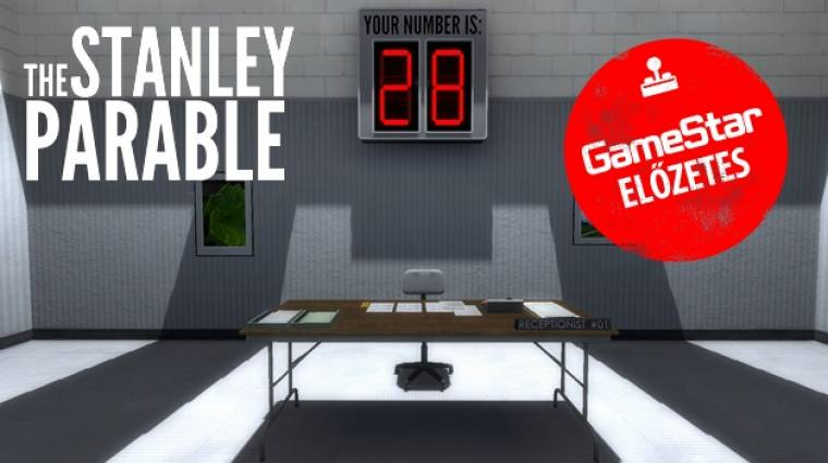 The Stanley Parable - példabeszéd a videojátékokról bevezetőkép