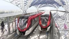 Vezető nélküli metró Rijádban kép