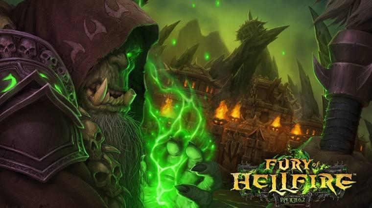 World of Warcraft: Warlords of Draenor - megjelent a Fury of Hellfire patch bevezetőkép