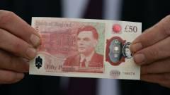 Forgalomba került Alan Turing portréjával az új 50 fontos bankjegy kép
