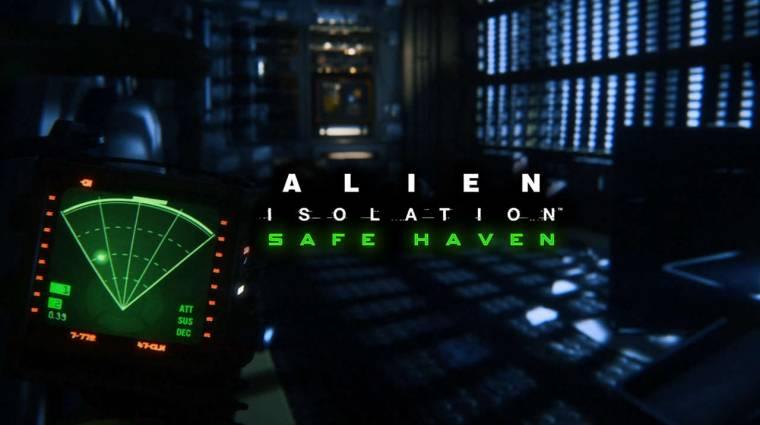 Alien: Isolation Safe Haven DLC - még nehezebb a túlélés bevezetőkép