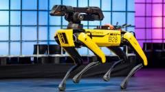 Egyelőre nem harap a Boston Dynamics robot-rendőrkutyája kép