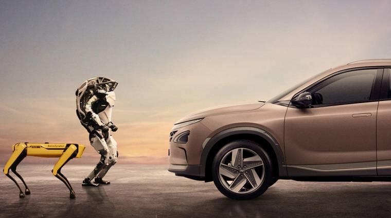 Tánccal ünneplik a Boston Dynamics robotjai a cég legújabb sikerét kép