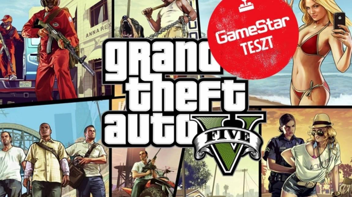 Grand Theft Auto V PS4/Xbox One teszt - bűnözés bűnözők szemével bevezetőkép