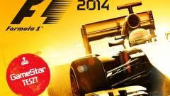 F1 2014 teszt - újra a sokadik körben kép