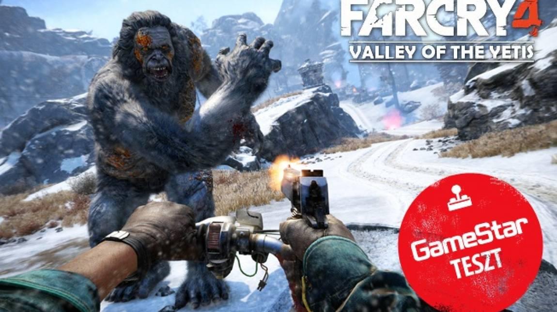 Far Cry 4: Valley of the Yetis teszt - a jeti nem barát bevezetőkép