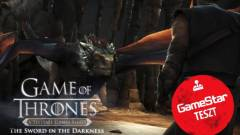 Game of Thrones: The Sword in the Darkness teszt - ugyanaz sárkánnyal kép