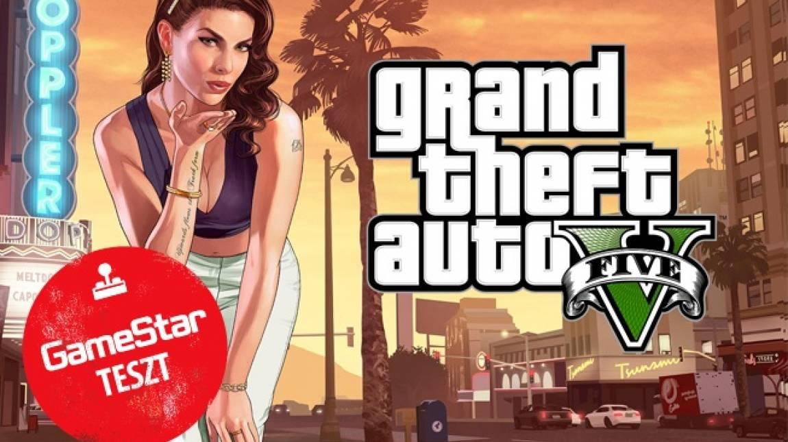 Grand Theft Auto V PC teszt - azért a PC az úr bevezetőkép