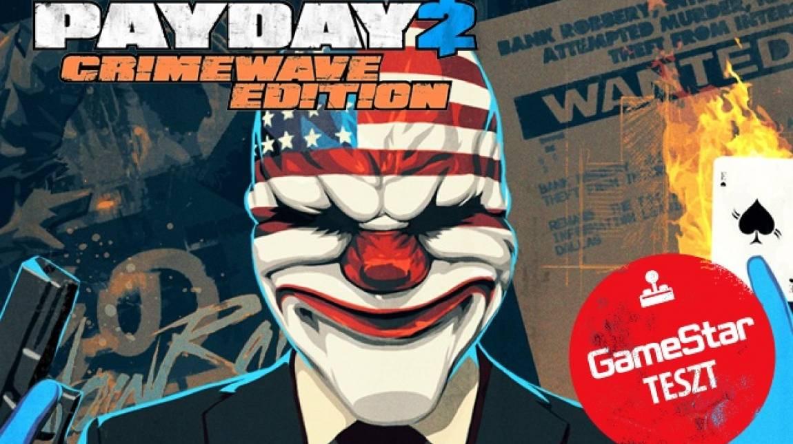 Payday 2: Crimewave Edition teszt - új maszkban bevezetőkép